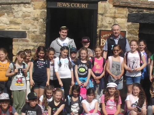 In Front of Jews Court