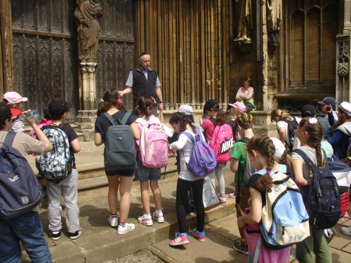 At Lincoln Cathedral